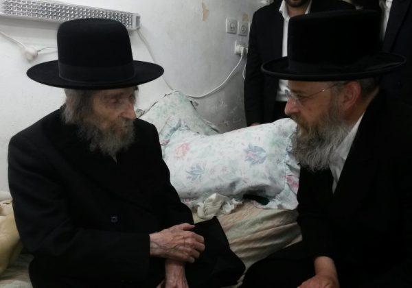 """ביקורו של יו""""ר ארגון הרב שלמה בוכנר בארה""""ק"""