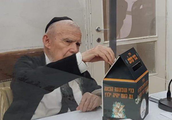 אלפים חותמים על שטר שותפות עם גדולי ישראל בתרומה לבוני עולם – לזכות בדין