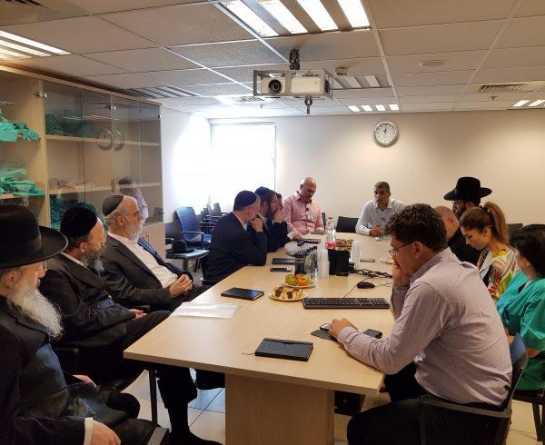 הועידה החודשית הרפואית עם בכירי שיבא ויוצי בוני עולם