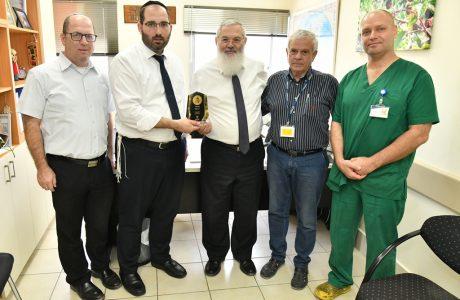 סגן שר הביטחון הרב אלי בן-דהן סקר את מערך ההשגחות של 'בוני עולם'