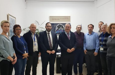 ארגון בוני עולם קיים ישיבת עבודה מאומצת ומשותפת למנהלי מעבדות הIVF בלשכת נציב שירות המדינה פרופ' הרב דניאל הרשקוביץ.